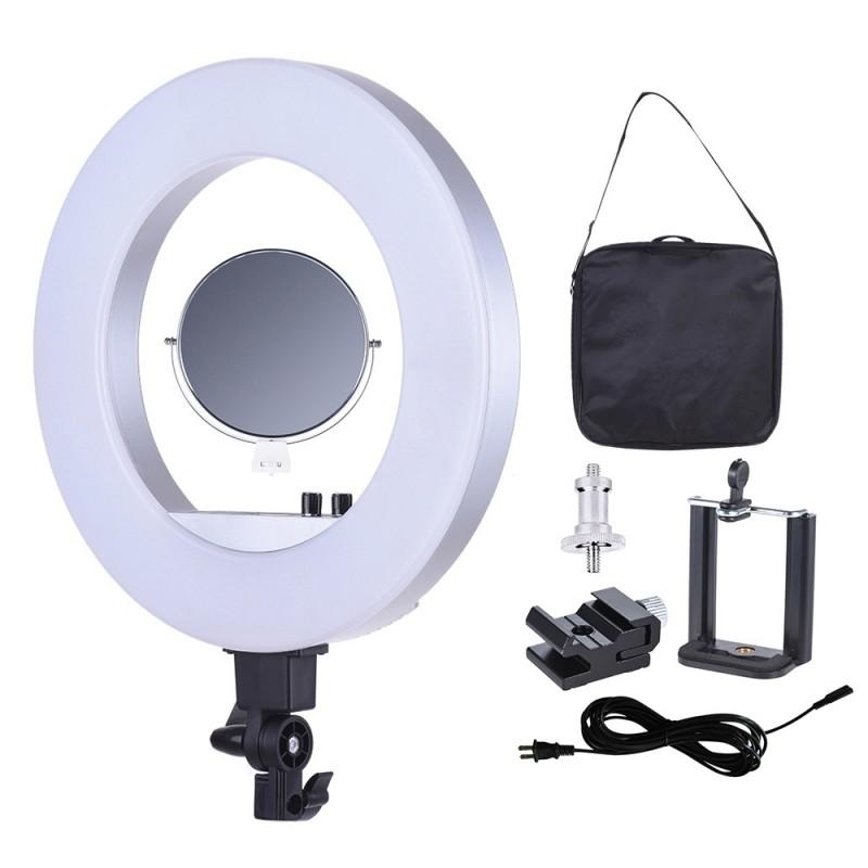 Lampa Led Circulara Bi-colora Dream Lashes 18′ (45cm) 50W, 480LED